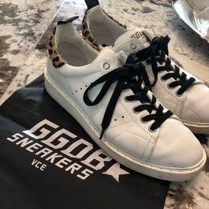 golden goose deluxe brand starter sneaker sz 38